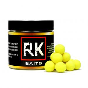 Kulki proteinowe RK Baits Ananas Masło Fluo Pop Up 12mm 125ml