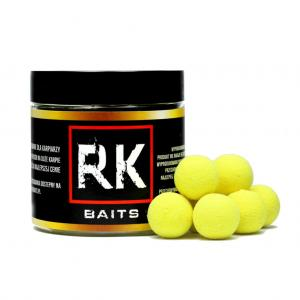 Kulki proteinowe RK Baits Ananas Masło Fluo Pop Up 15mm 125ml
