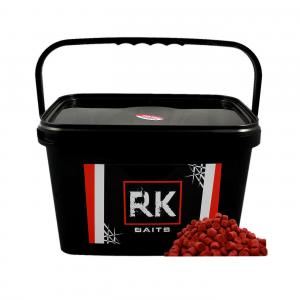 Pellet wiaderko RK Baits Squid - Orange 12mm 3kg