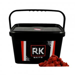 Pellet wiaderko RK Baits Squid - Orange 18mm 3kg